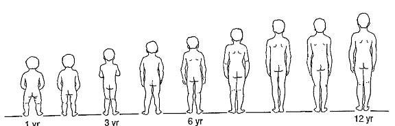 پای پرانتزی و رشد و تکامل طبیعی پاها و زانوها