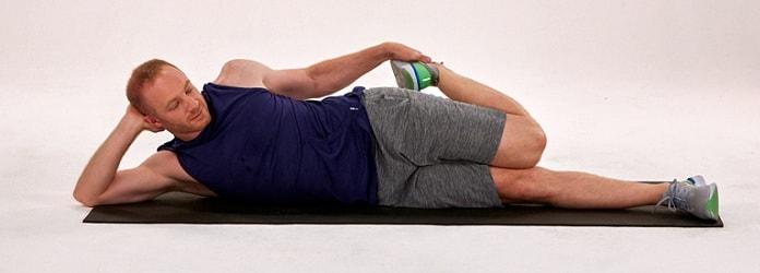 کشش عضلات چهار سر ران