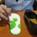 کفی چرخش مچ پا برای پیشگیری از درد پا هنگام پوشیدن کفش