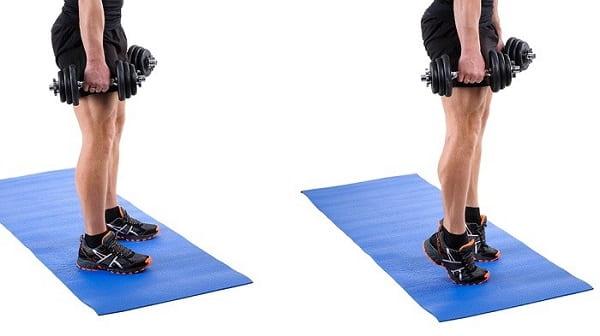 بالا کشیدن پشت ساق پا برای اصلاح پای پرانتزی