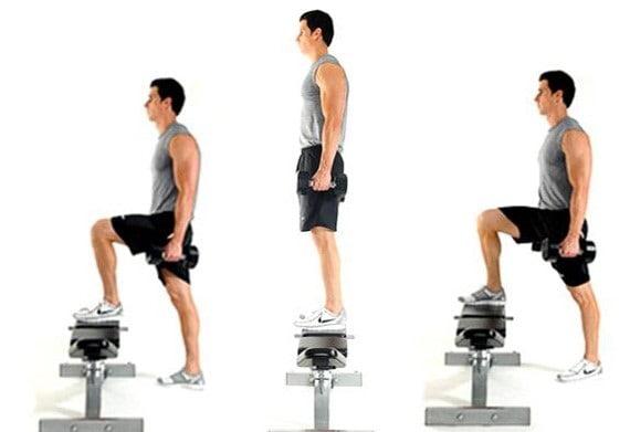 حرکات استپ آپ برای اصلاح پای پرانتزی