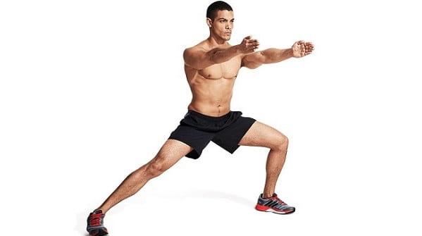 حرکت لانژ برای اصلاح پای پرانتزی